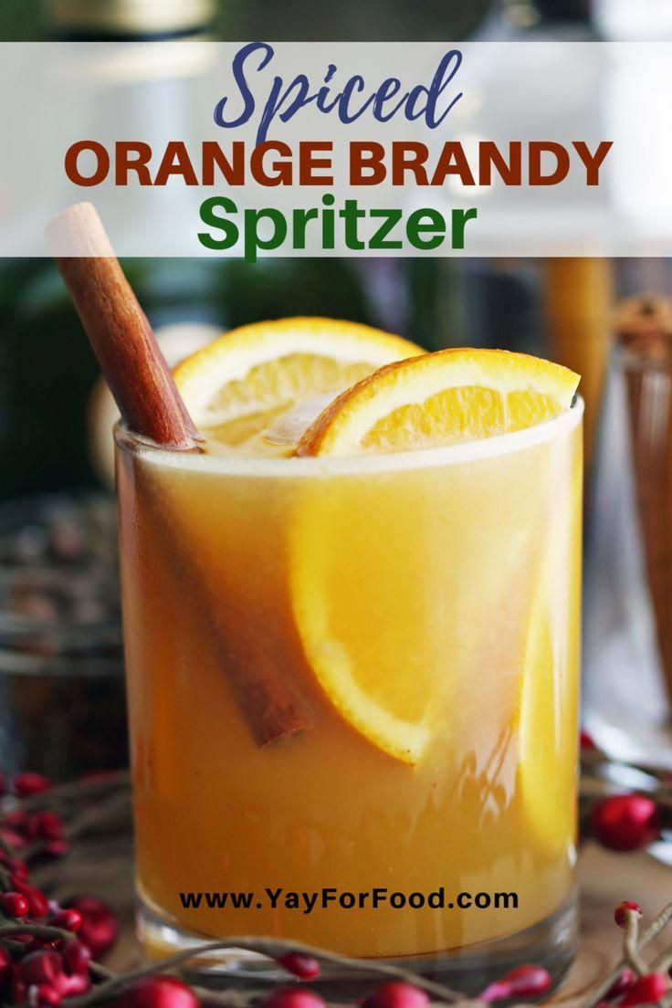 Photo of Celebrate the holidays with this easy and delicious spiced brandy #cocktail reci…