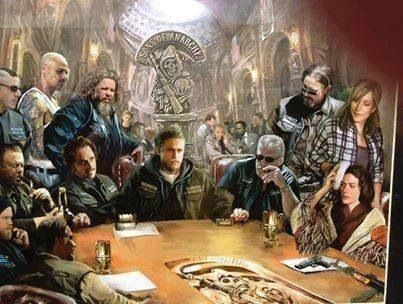 Sons of Anarchy SOA Fan Art. Awesome!!