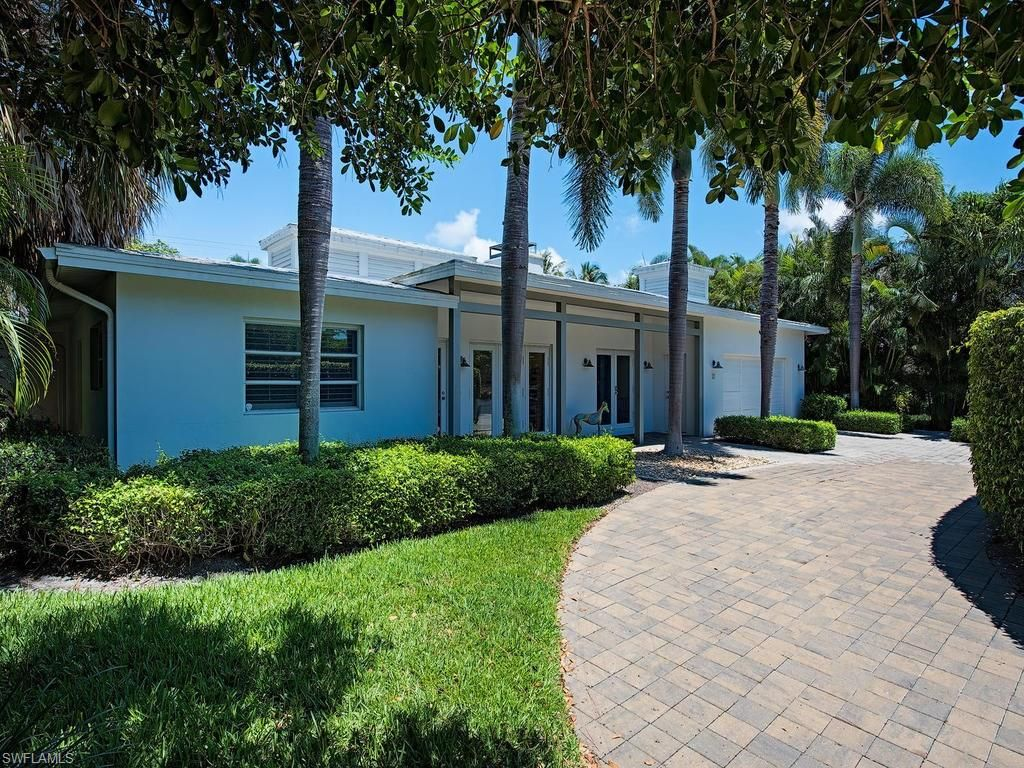Mid Century Modern Homes In Naples Florida Modern Ranch Midcentury Modern Mid Century Modern House