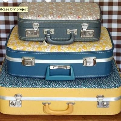 comment customiser une valise les tutos relooking sacs valises pinterest valises shabby. Black Bedroom Furniture Sets. Home Design Ideas