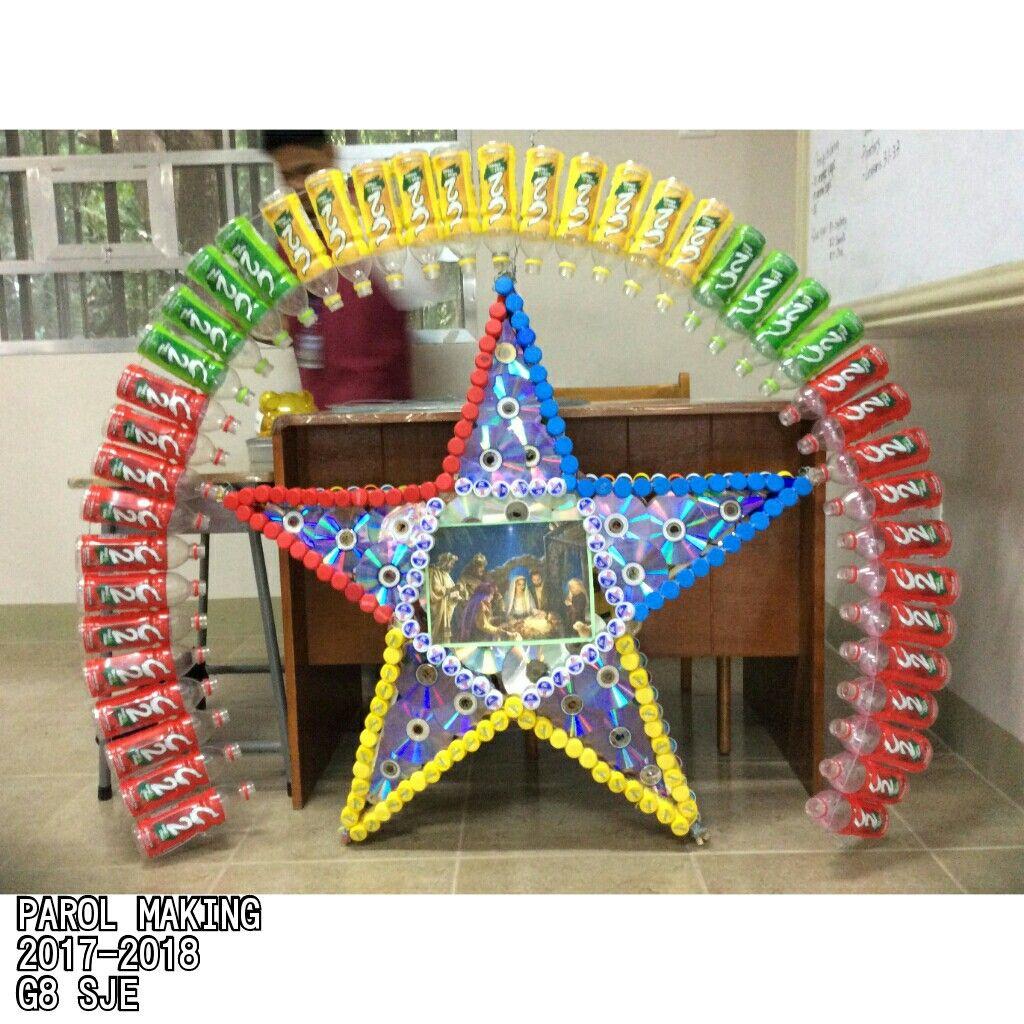 Parol Making RecycledMaterials Parol, Christmas parol