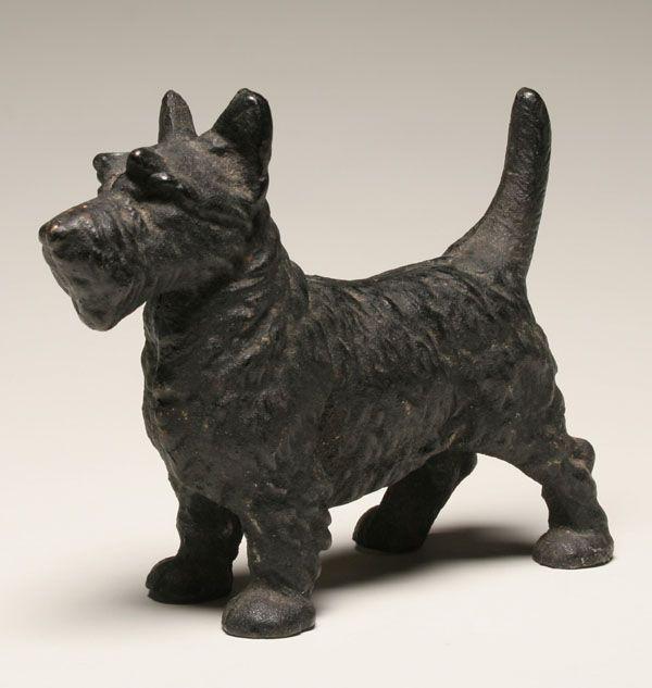 Scottish terrier, Scottie, cast iron doorstop. - I Have This One! Scottish Terrier, Scottie, Cast Iron Doorstop