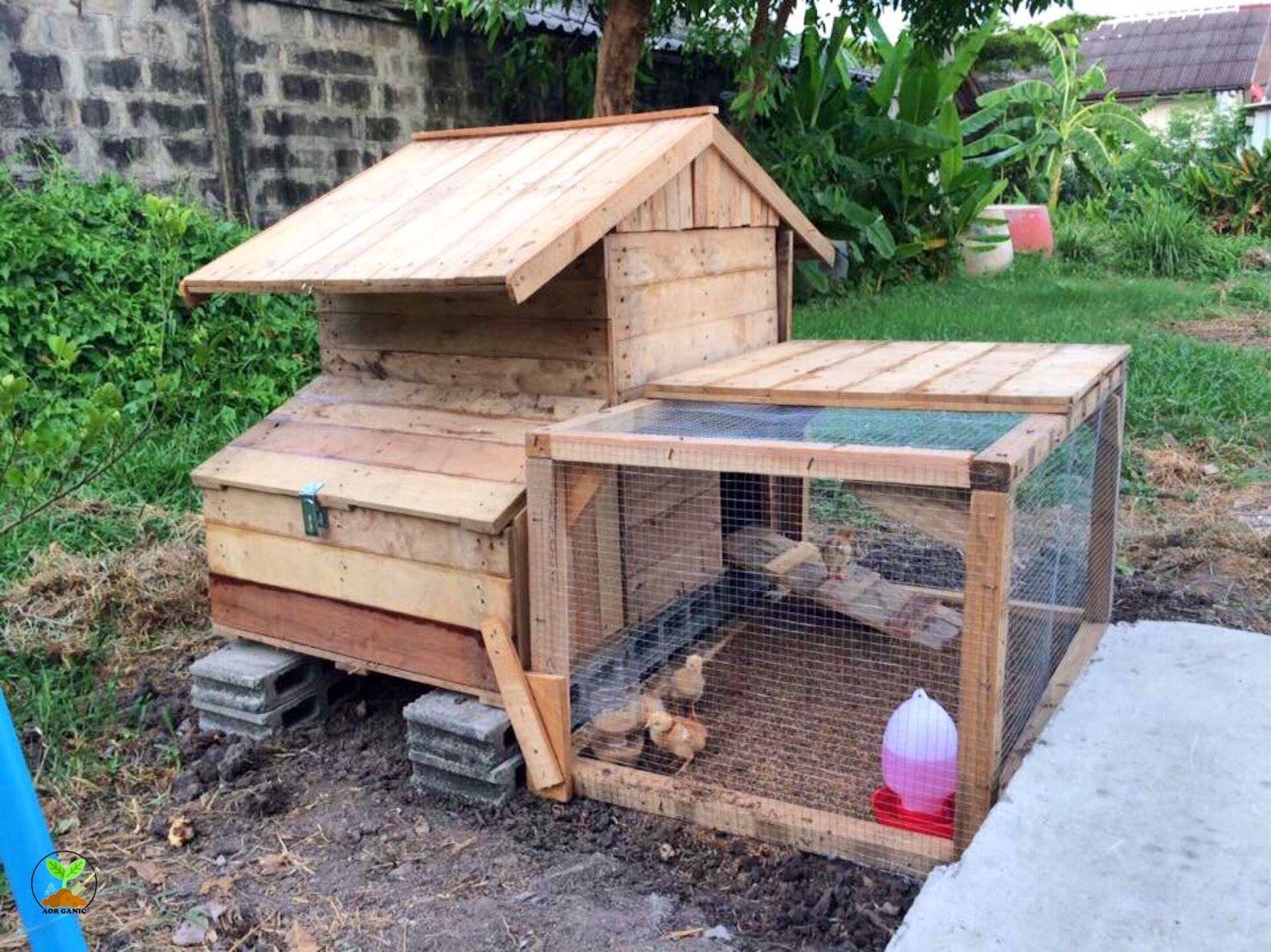 Chicken Coop เล าไก เล าไก แปลนงานไม ไอเด ย