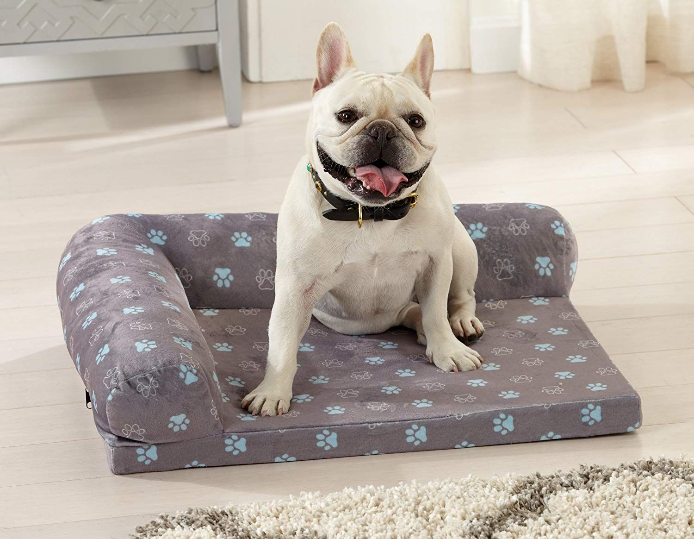 Great Bay Home Premium Orthopedic Ultra Plush Bolster Dog