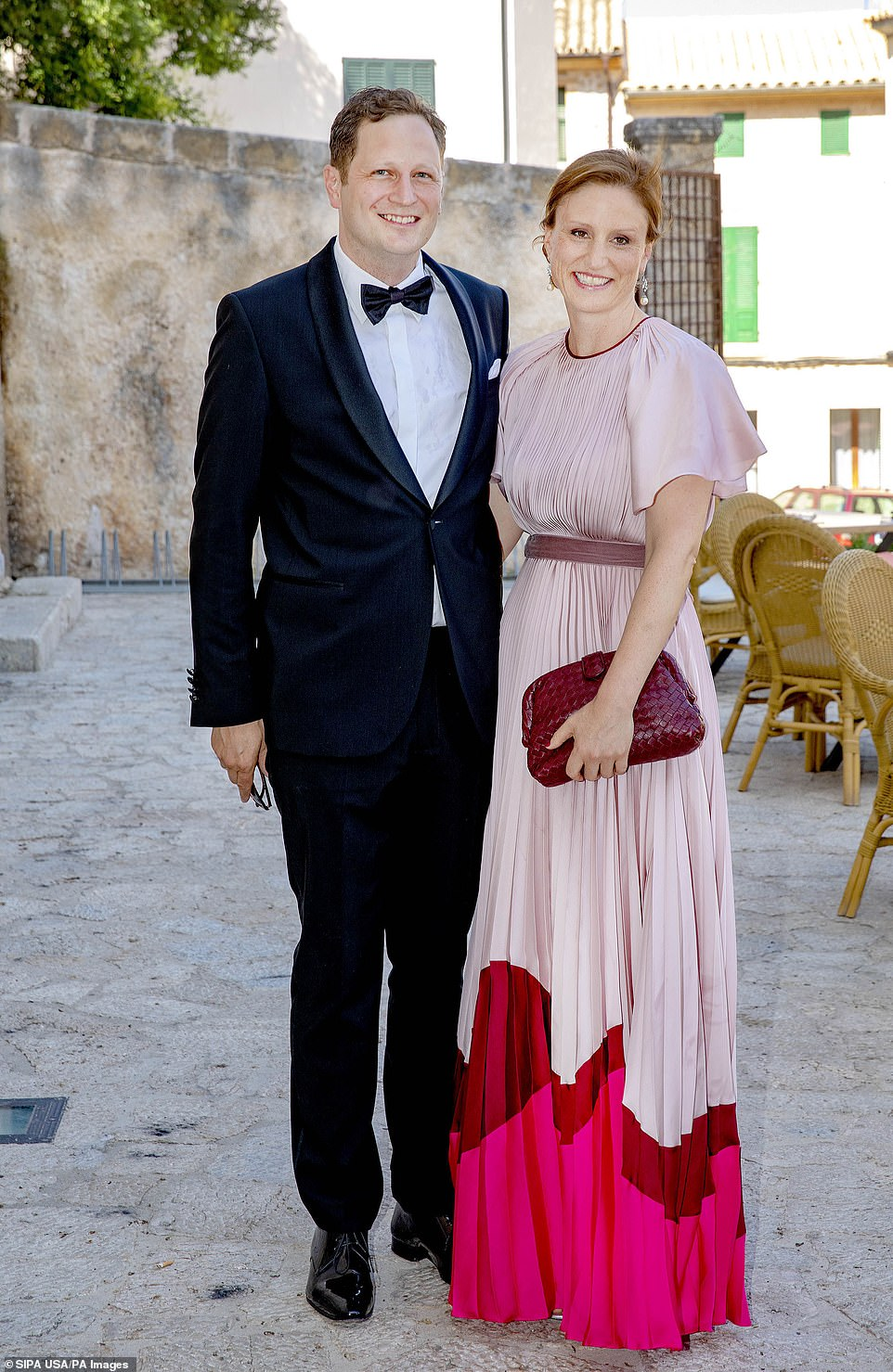 Prince Georg Friedrich Of Prussia Who Is The Current Head Of The Hohenzollern Family And His Wife Sophie Princess Of Prussia Prussia Civil Ceremony Royal
