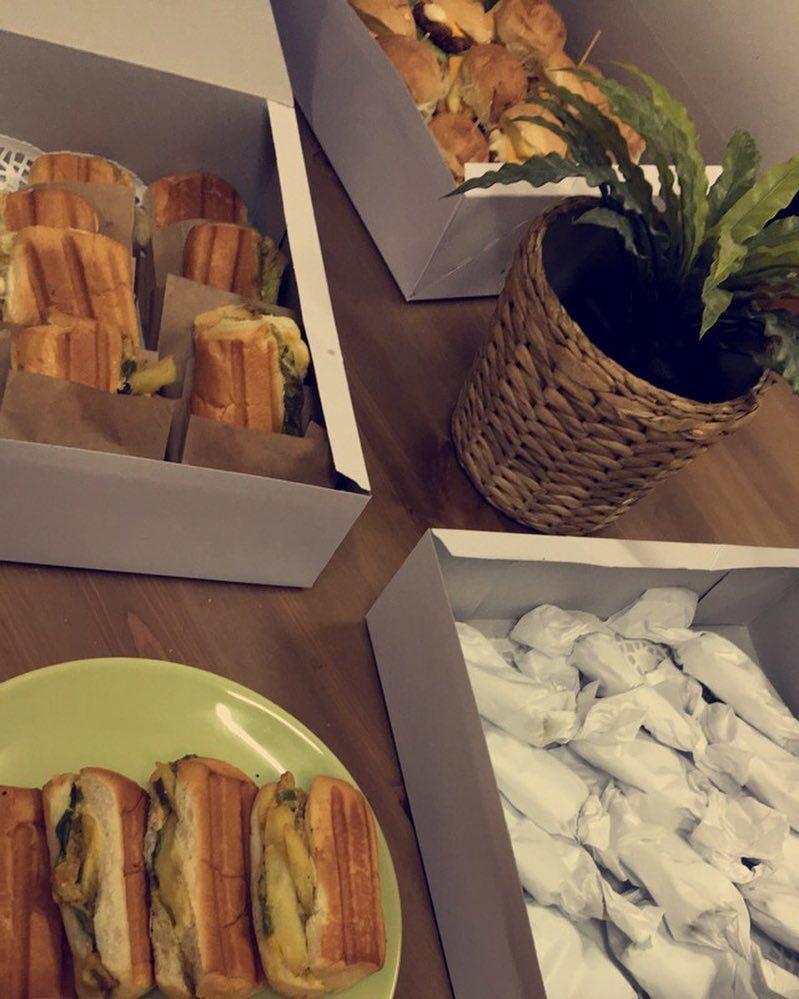 أسعد الله صباحهم ميني شاورما ميني كودو ميني برجر By Mrs Arwa1 Food Sandwiches