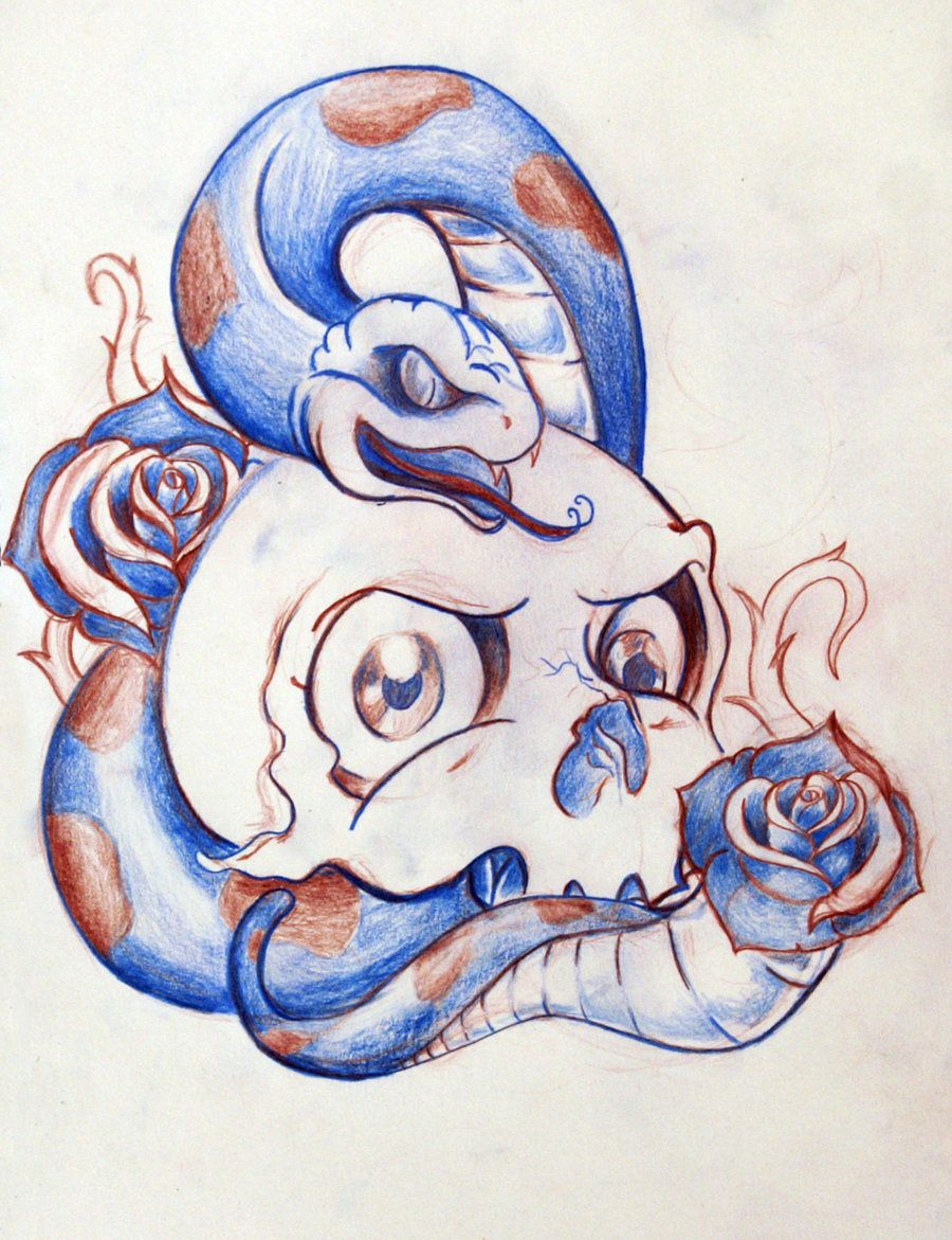 new school tattoo designs Google Search art Skull