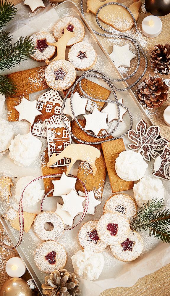 Wir finden: Plätzchenrezepte für Weihnachten kann man nie genug ...