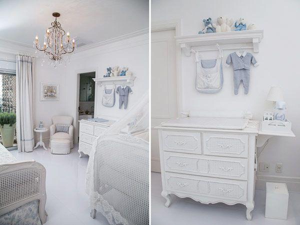 C mo decorar la habitaci n de un beb de estilo cl sico - Como decorar la habitacion de un bebe ...