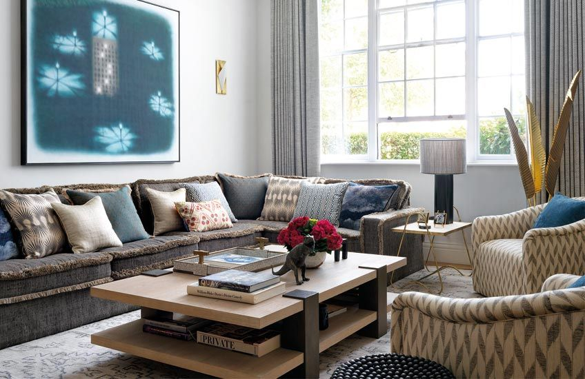 Design Trends Fringe Cushions Furniture With Images