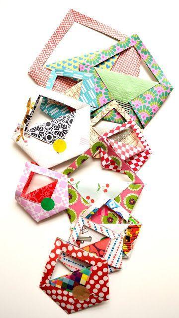Little origami bag (DIY) | ingthings | Bloglovin'