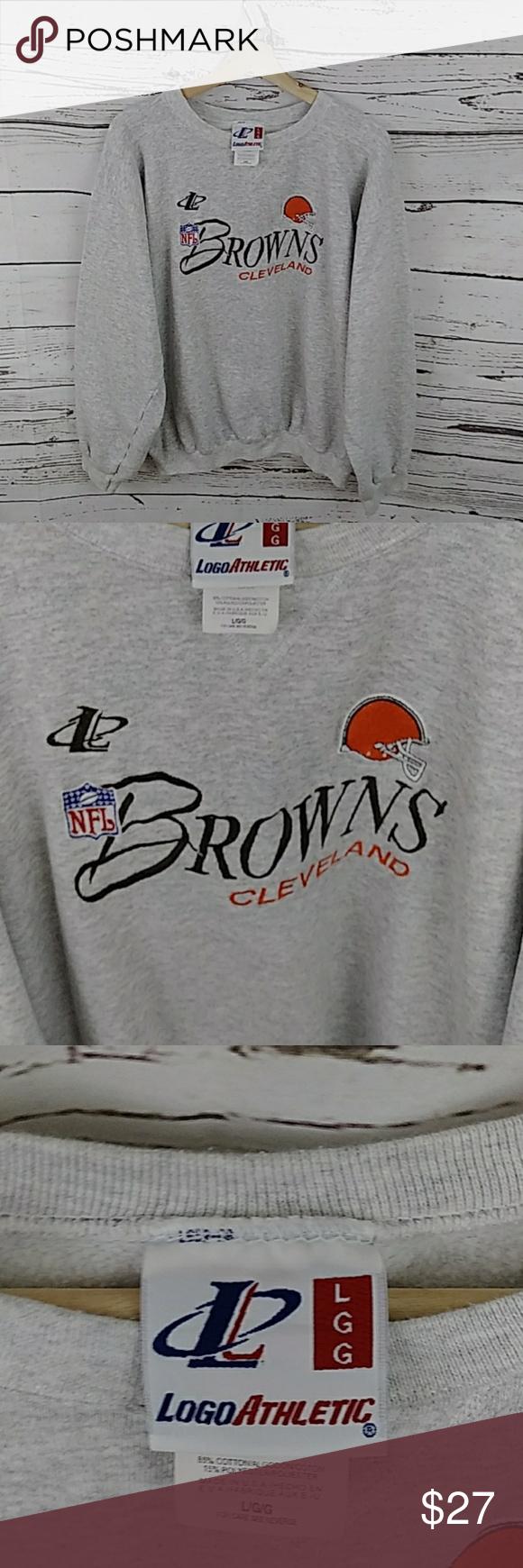 Vtg Nfl Cleveland Browns Embroidered Sweatshirt Vtg Nfl Cleveland Browns Embroidered Sweatshirt Excellent Embroidered Sweatshirts Sweatshirts Sweatshirt Shirt [ 1740 x 580 Pixel ]