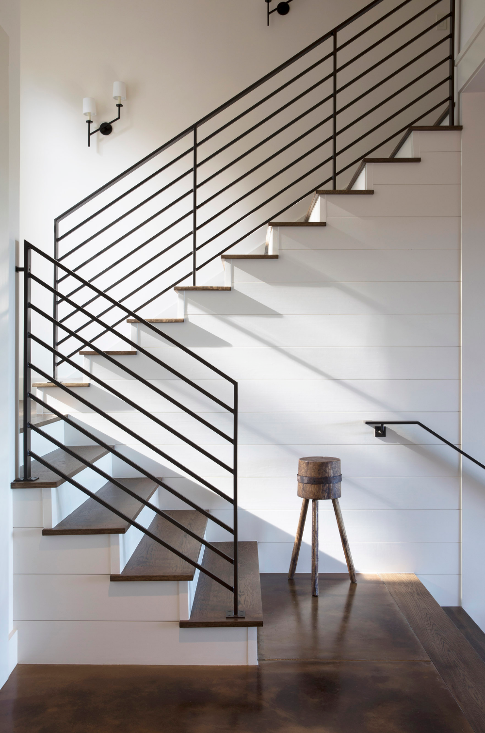 Staircase | St. Helena IV | Jennifer Robin Interiors