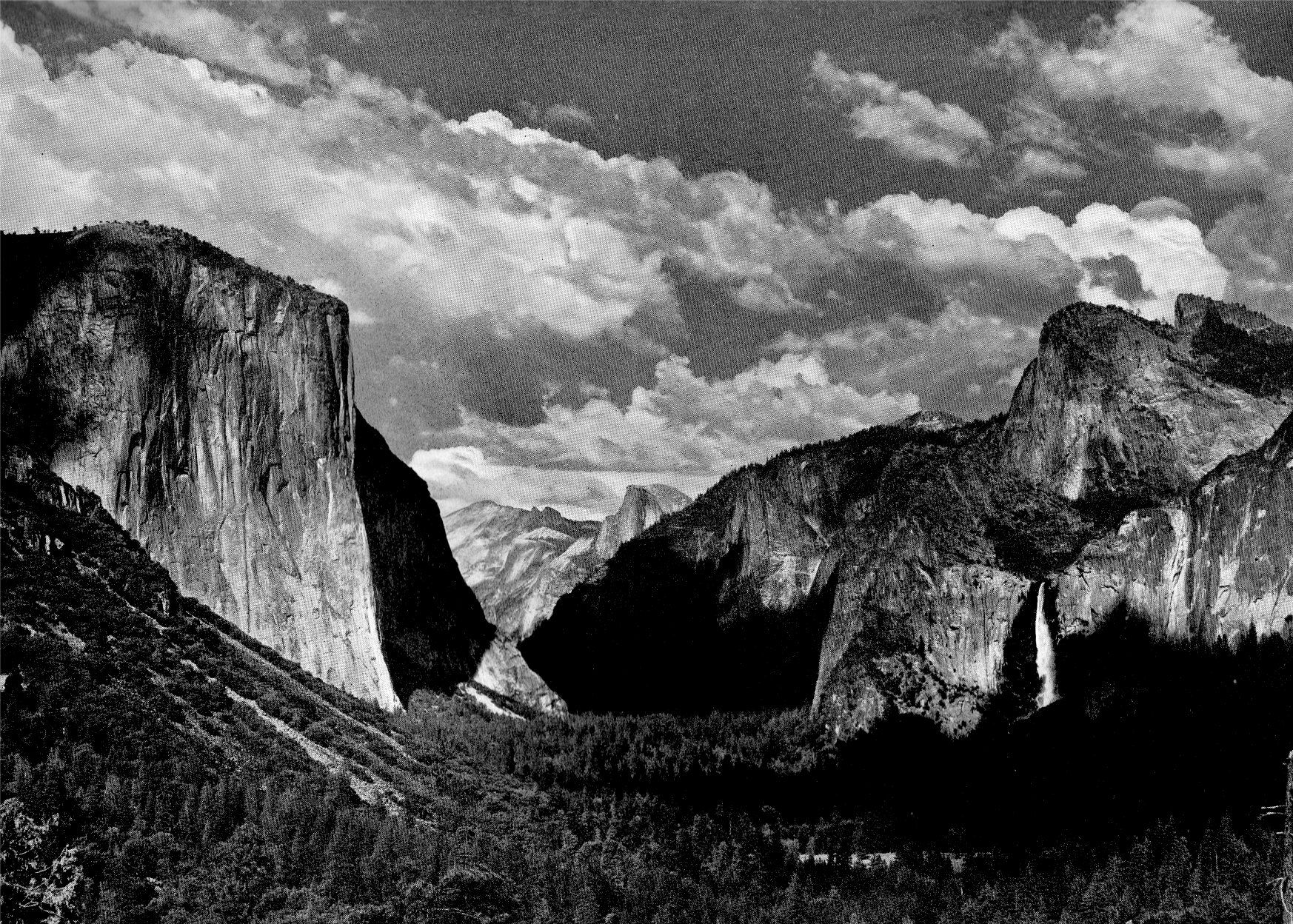 Ansel Adams Photography | The Four Seasons in Yosemite National Park ...
