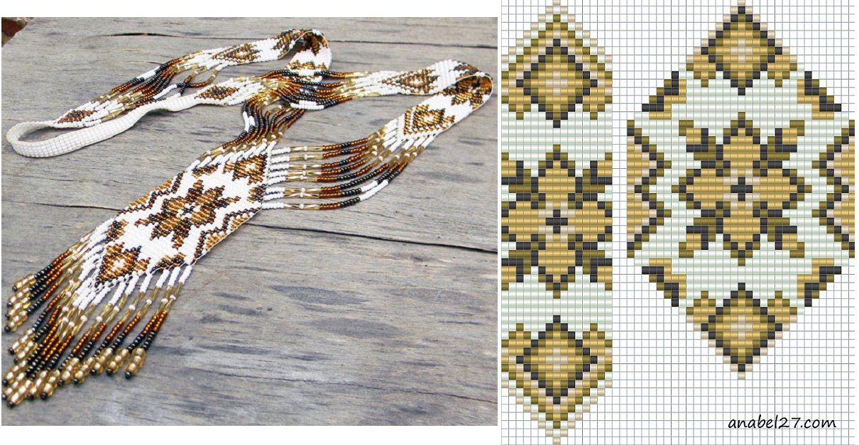 схемы для плетения бисером на