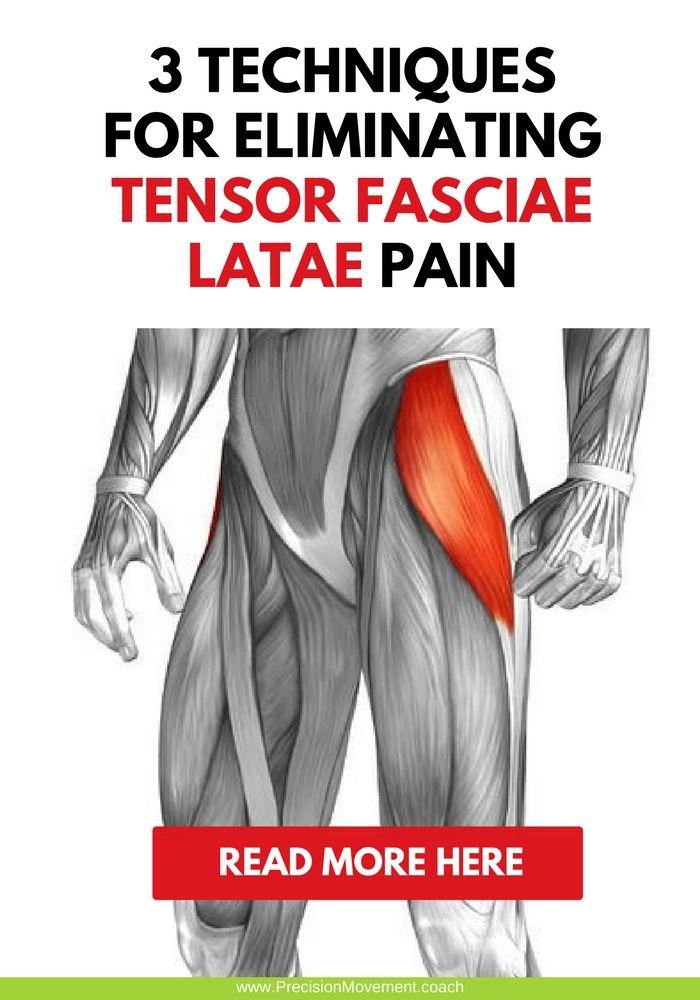 3 Techniques for Eliminating Tensor Fasciae Latae Pain | Piernas y ...