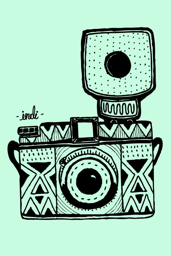 Vintage Cameras Wallpapers For Iphone Or Ipod On Behance Camera Wallpaper Iphone Wallpaper Camera Drawing
