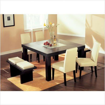 Huntington 7 Piece Dining Set Furniture Decor Dining Room Table Centerpieces Square Dining Tables Square Dining Room Table