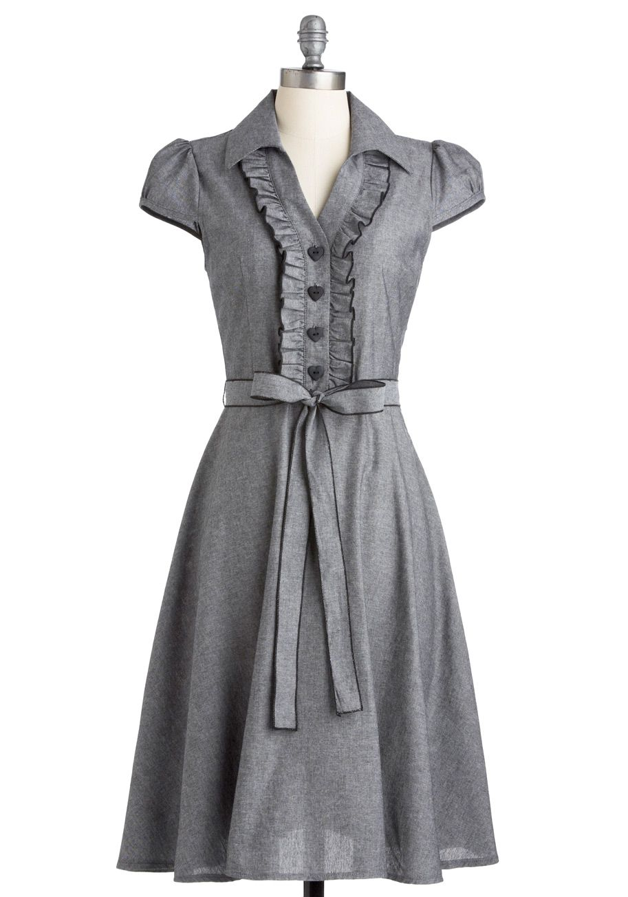 187cfe2222 About the Artist Dress - Grey