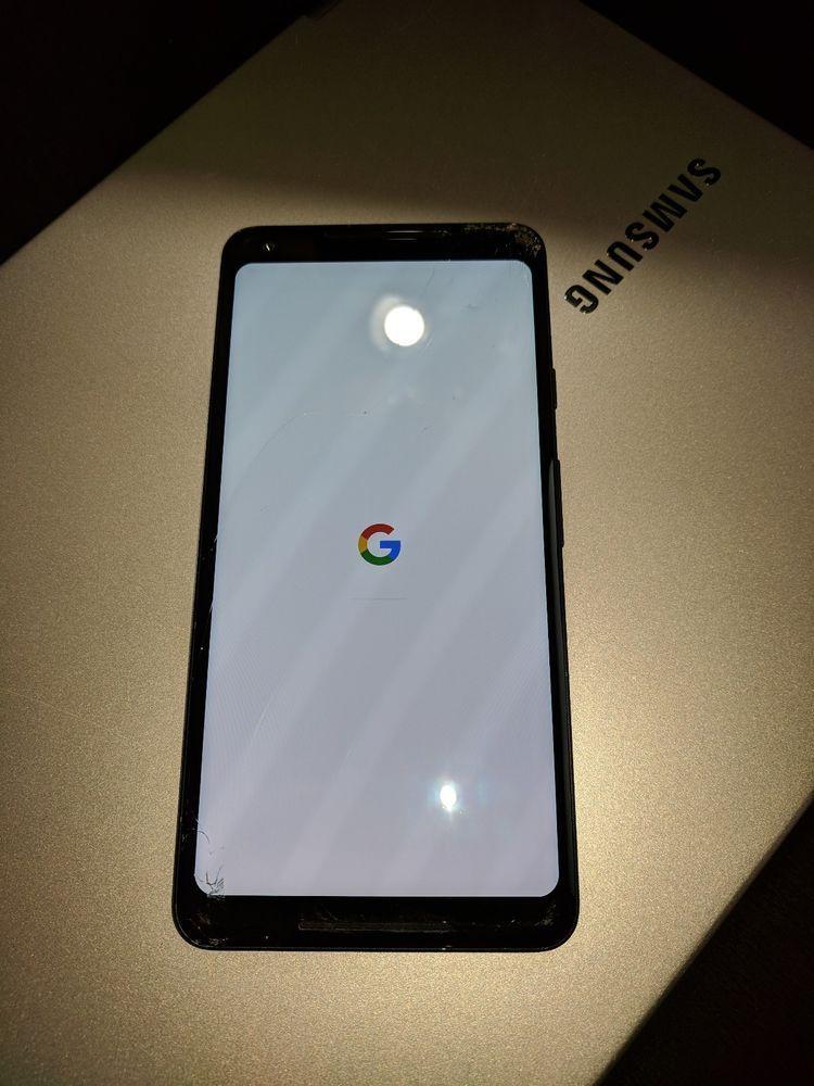 NEED SCREEN REPLACEMENT Google Pixel 2 XL (128GB, Just Black