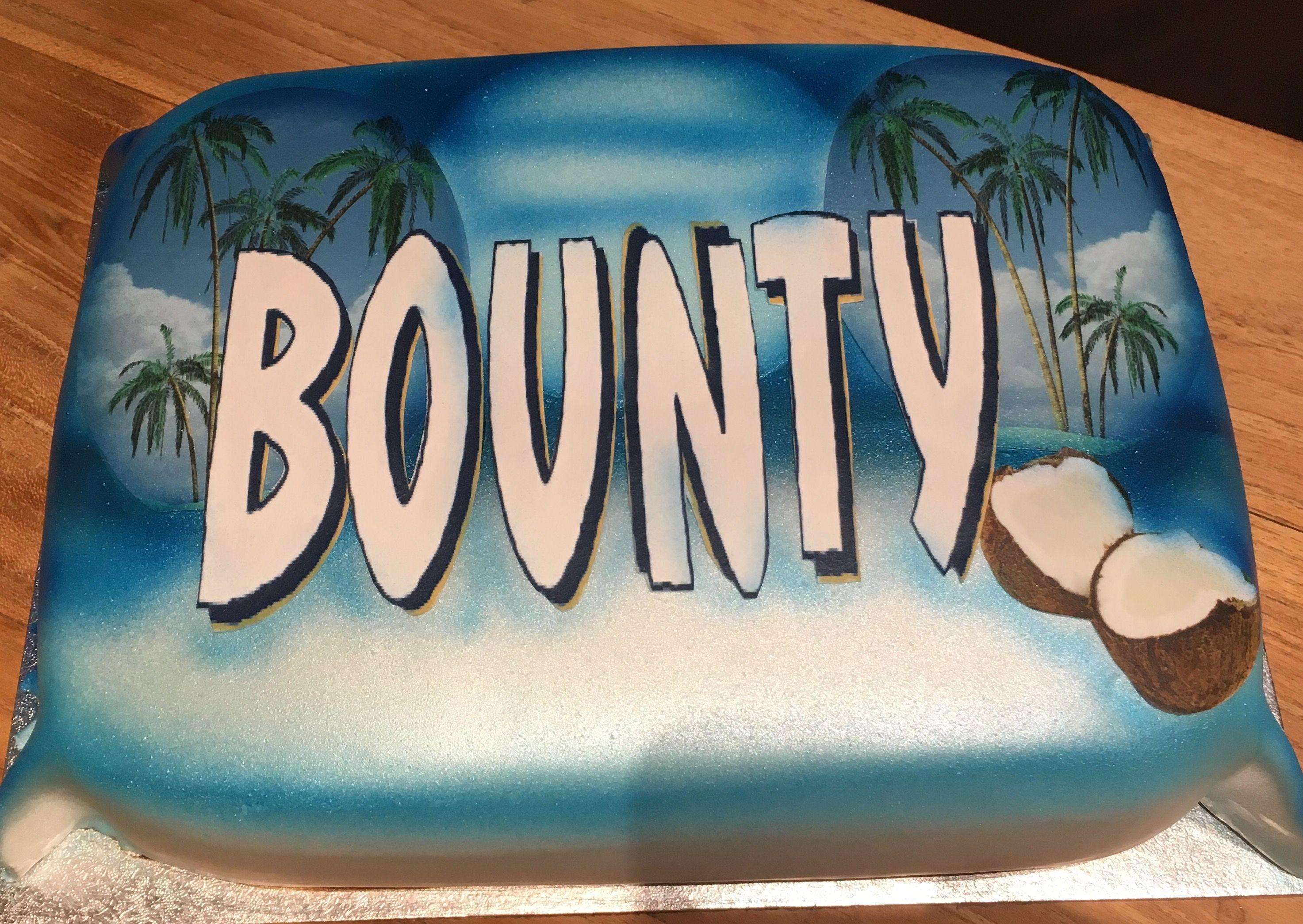 Bounty Taart