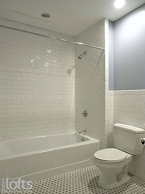 What Makes Small Bath Feel Larger Shower Tile To Ceiling