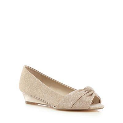Wedding shoes, Wedge wedding shoes