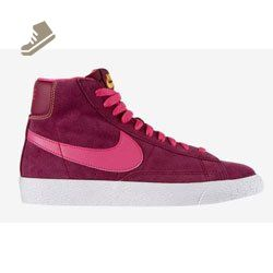 1815bf0bb32d nike blazer mid vintage (GS) womens youths trainers 539930 600 sneakers hi  tops raspberry red pink (uk 5.5 us 6Y eu 38.5) - Nike sneakers for women  ( Amazon ...