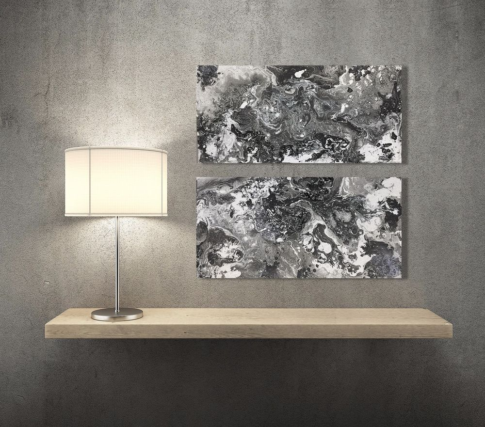 Original large modern oil painting abstract wall art contemporary