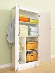 Stand Alone Linen Closet. Our Hundred Year Old Craftsman House Has No  Built In Linen Closet, So We Created Two, Using A Stand Alone Cabinet In  The Master ...