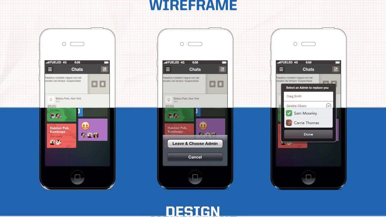AwardWinning iPhone App Design Design process, Android