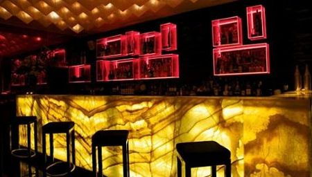 Backlit Onyx | Bar Design Idea With Onyx Bar Panels Backlit | Versital