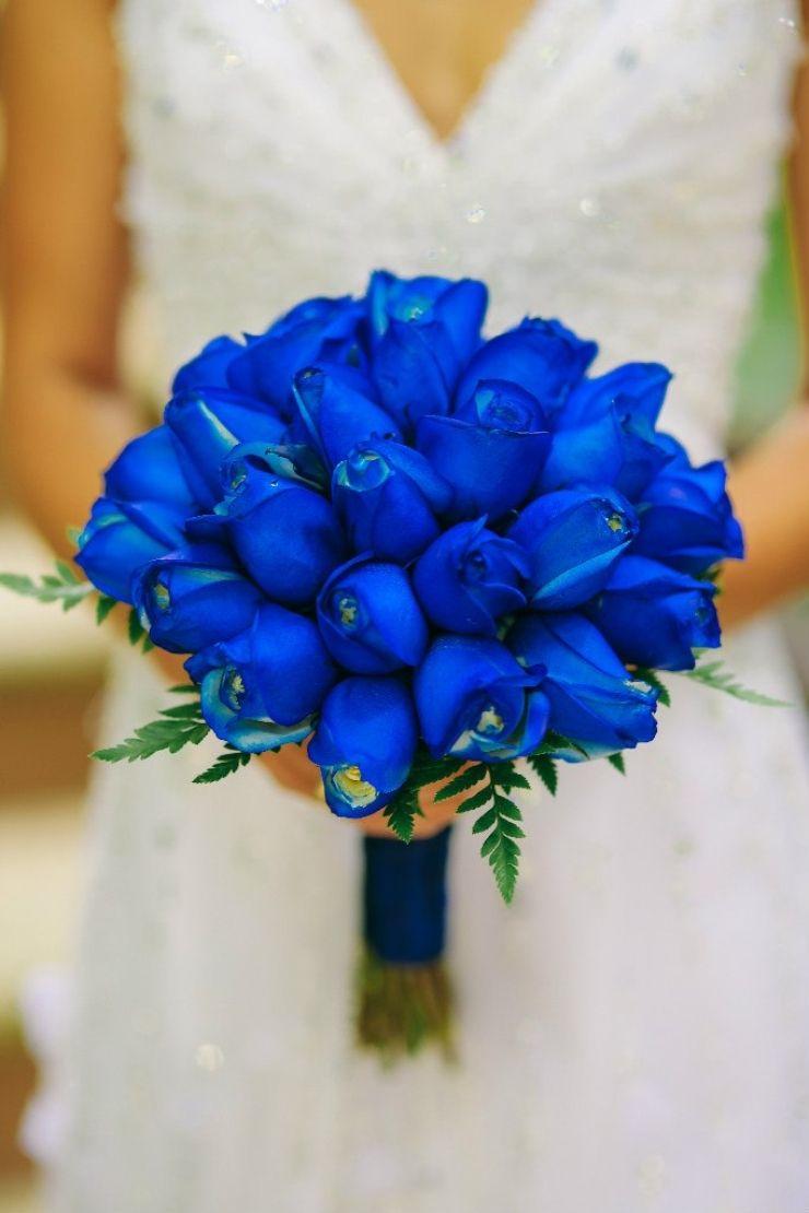 Marine blue rose wedding bouquet onedayillsayido pinterest marine blue rose wedding bouquet izmirmasajfo Images
