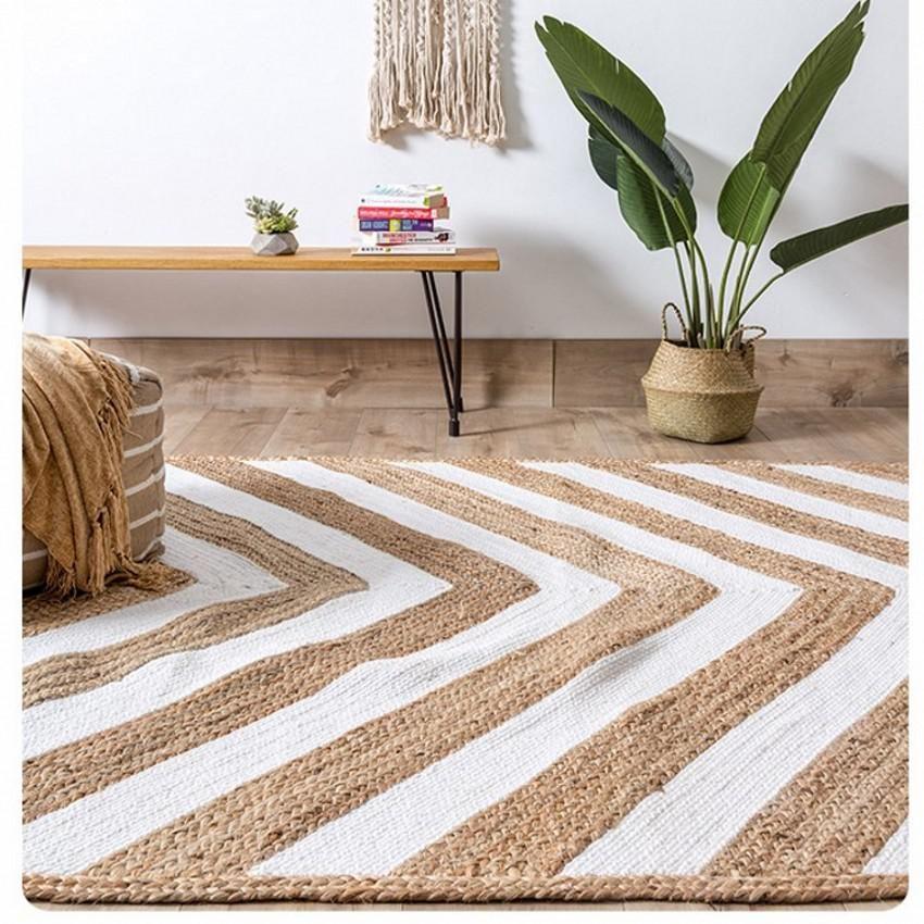 Natural India Quality Jute Handmade Living Room Carpet Big Size Bedside Carpet Decoration Office Carpet Co Living Room Carpet Room Carpet Carpet Decoration