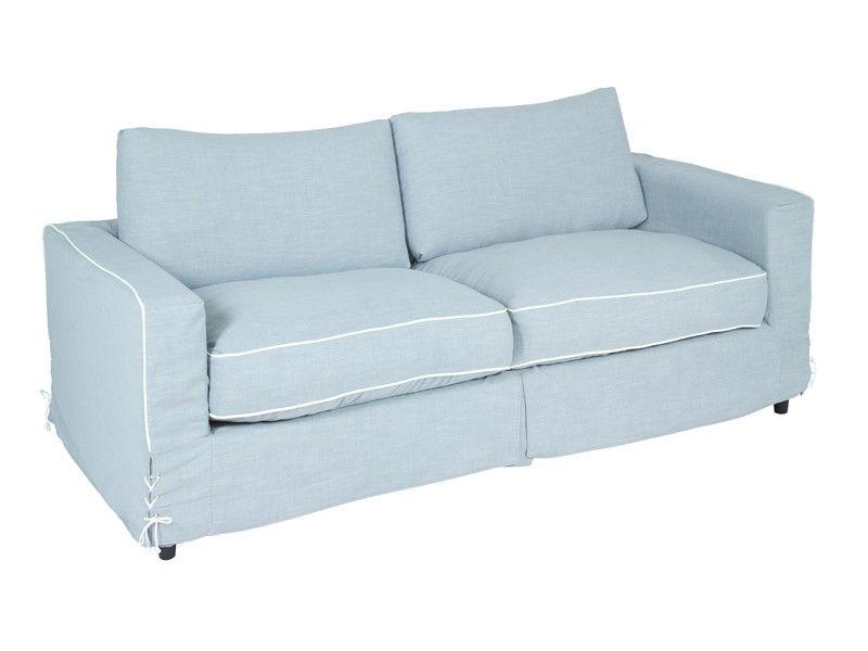 Sofá de tela 2 plazas