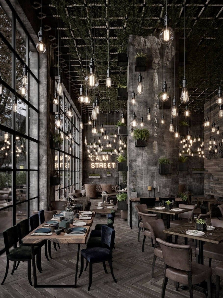 Qatar Calm Street Cafe Coffee Shop Interior Design Bistro Interior Restaurant Interior Design