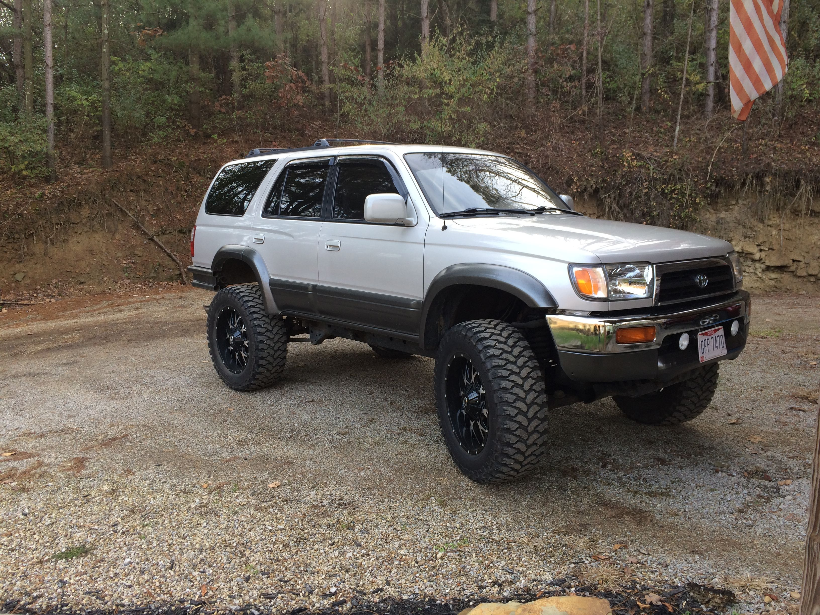 3rd Gen 4runner On 35 S 4runner 3rd Gen 4runner Toyota 4runner
