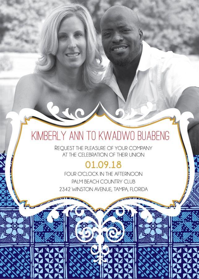 Morenike african wedding invitation printable african wedding invitation card stopboris Gallery