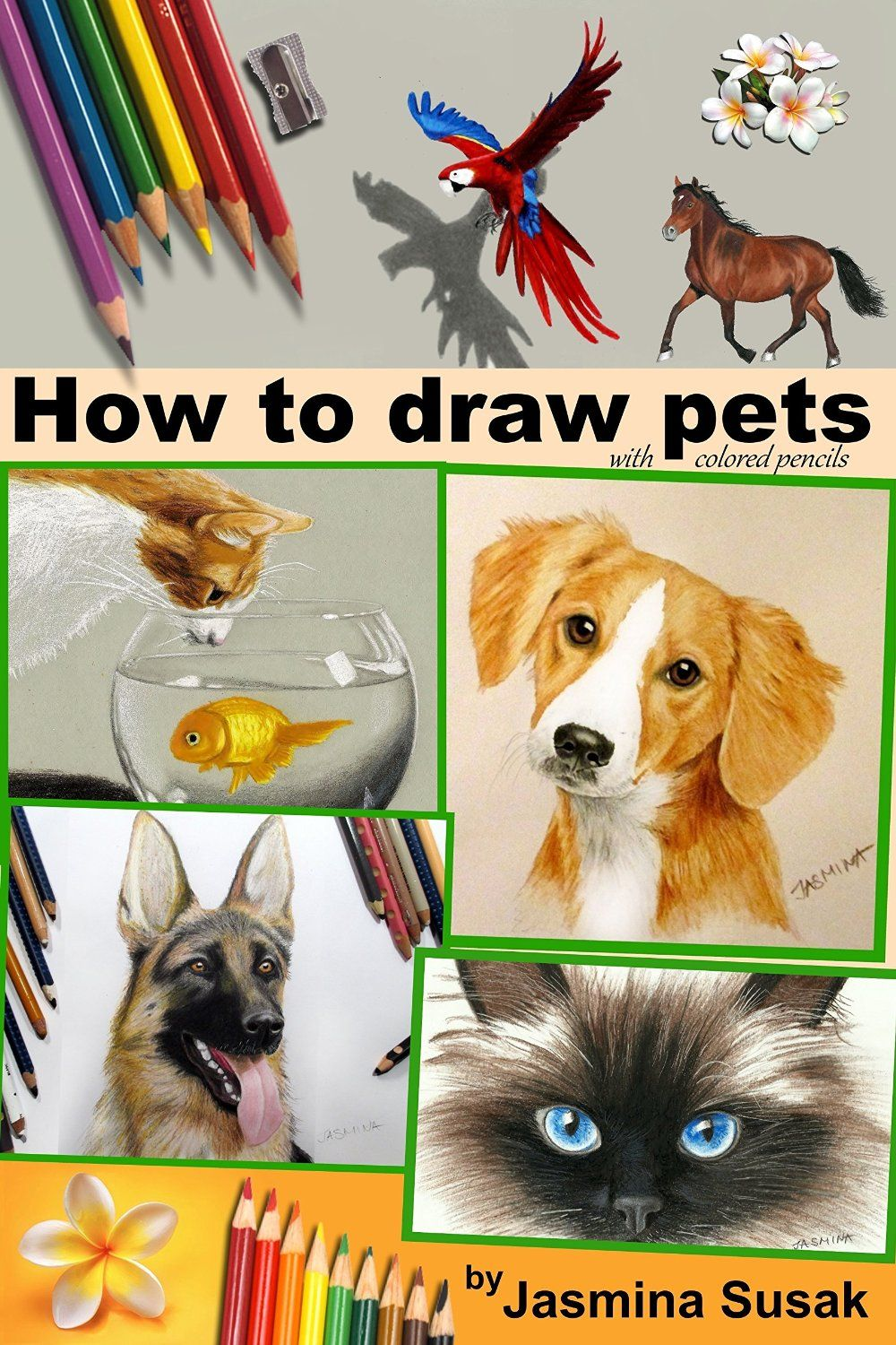 How to draw pets with colored pencils pdf