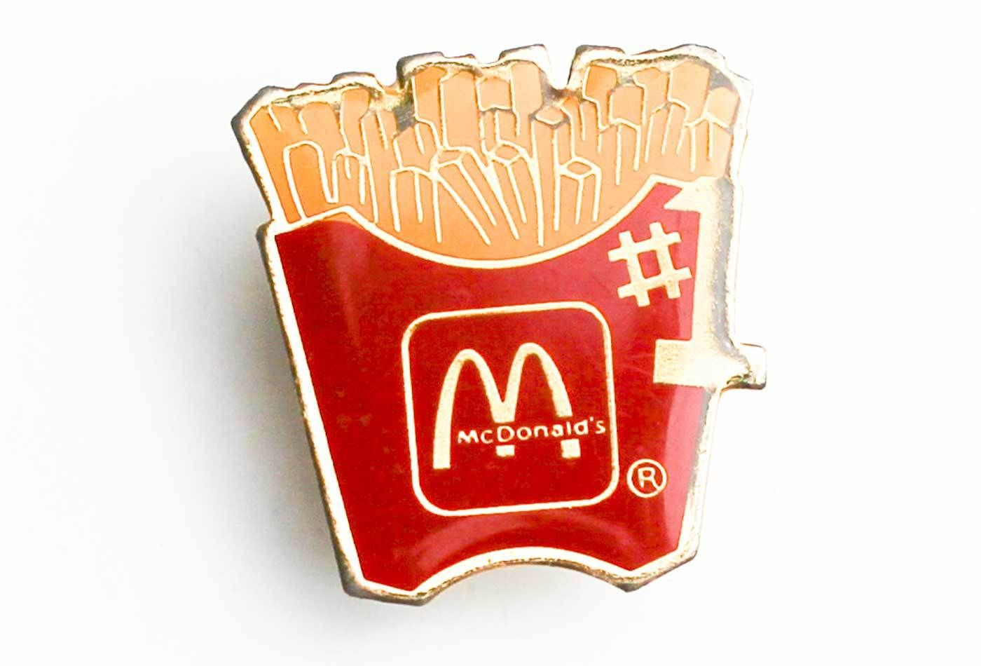 Vintage McDonald's French Fry 1 Pin in 2019 French