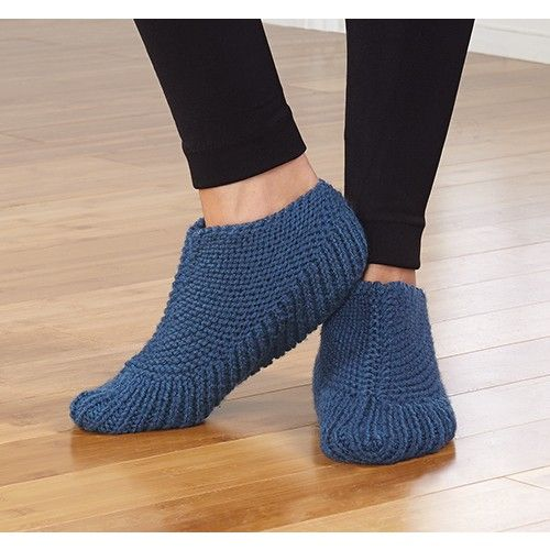 Mary Maxim Free Knit Boot Slippers Pattern Free Patterns