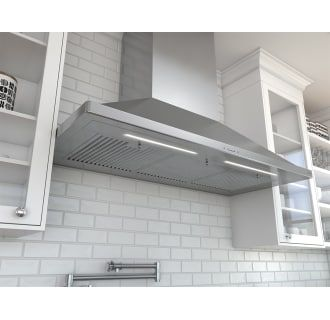 Zephyr Zsp E48bs Stainless Steel 350 1200 Cfm 48 Inch Wide Wall Mounted Range Hood From The Siena Pro Series Kitchen Range Hood Range Hood Stainless Steel Range Hood