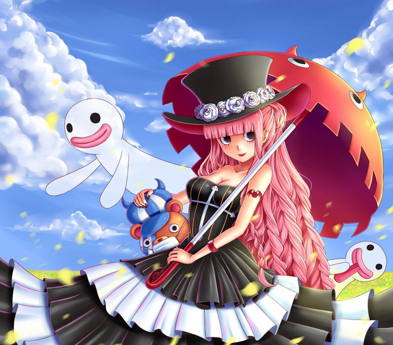 Anime One Piece Perona (One Piece) Fondo De Pantalla