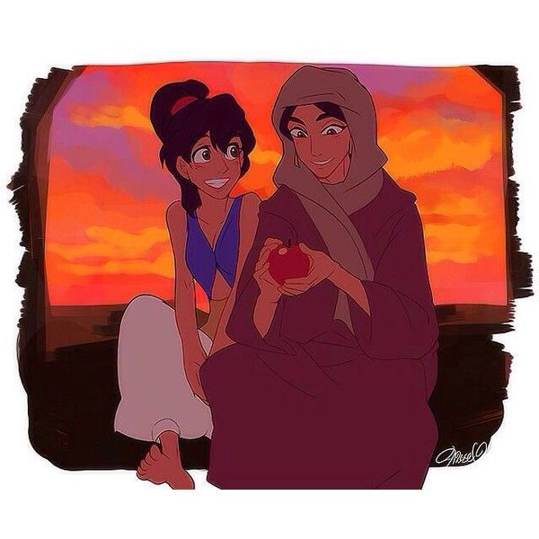 Aladdin And Jasmine Disney Genderbend Liked On Polyvore
