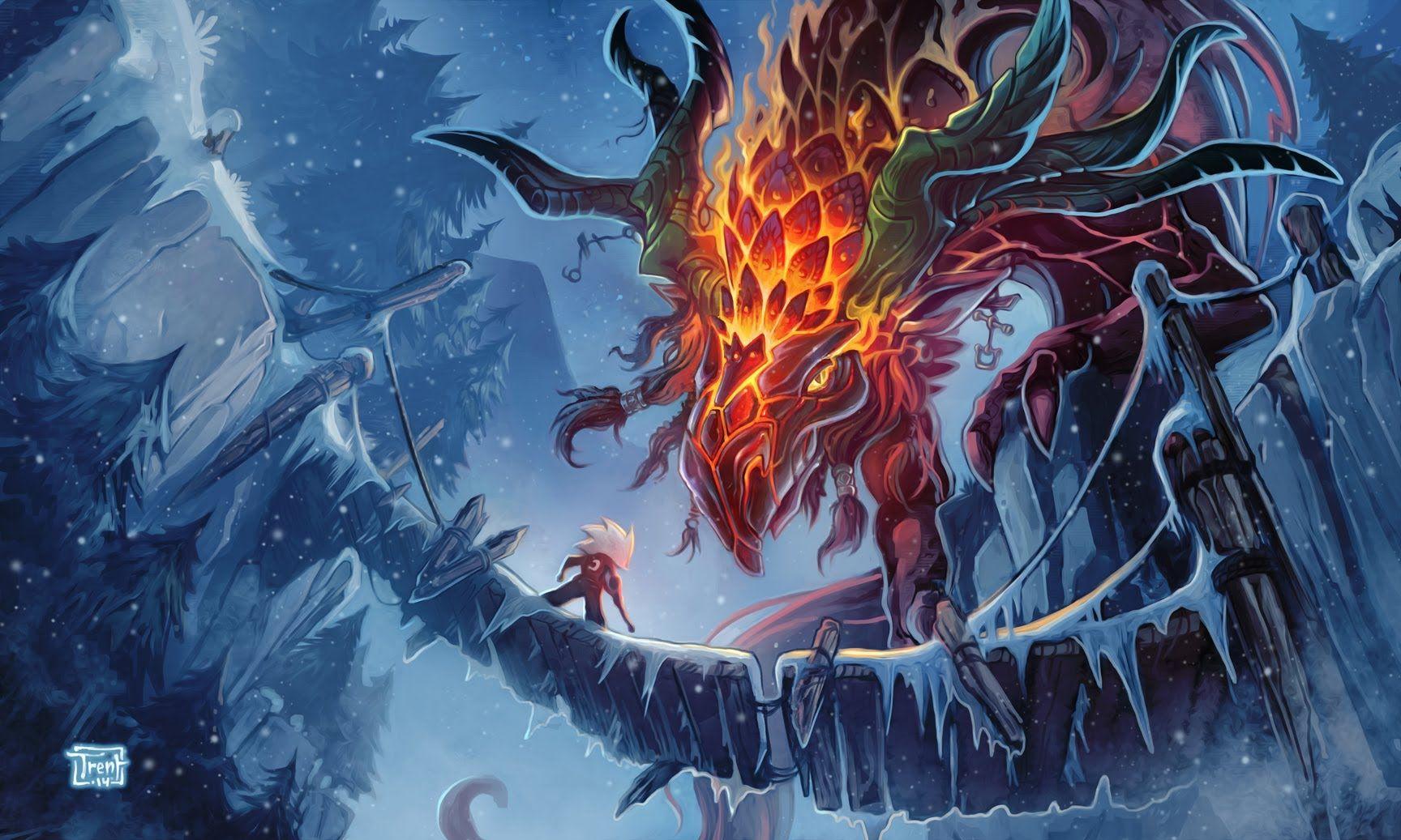 Glass Dragon by Trent Kaniuga