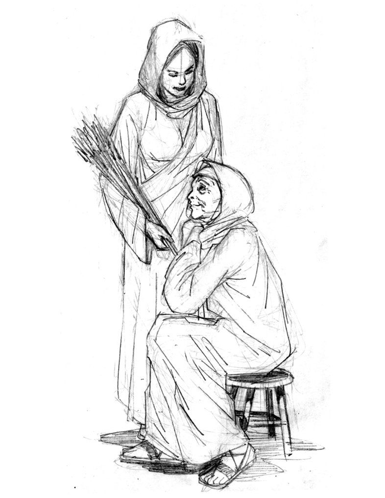 Ruth and Naomi by Jamesq | Torah ✡ Judaism ✡ Talmud | Pinterest ...