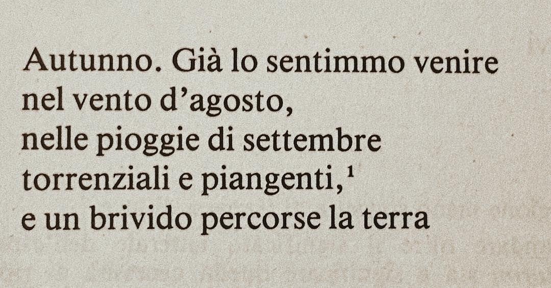 Autunno Vincenzo Cardarelli Autunno Poesia Cardarelli