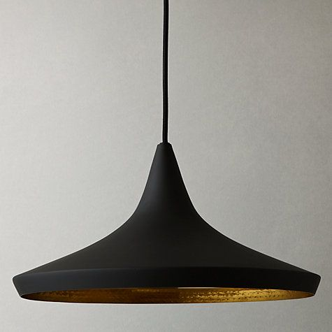 Buy tom dixon wide beat pendant black online at johnlewis buy tom dixon wide beat pendant light black from our ceiling lighting range at john lewis mozeypictures Gallery