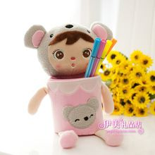 Stationery angela doll cartoon pen holder penholder cell phone holder(China (Mainland))