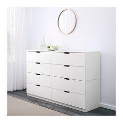 ikea nordli kommode mit 8 schubladen kann nach wunsch und gegebenheiten einzeln eingesetzt. Black Bedroom Furniture Sets. Home Design Ideas